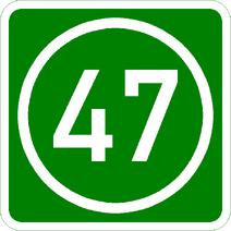 Knoten 47 grün
