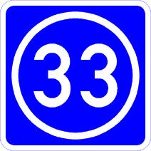 Knoten 33 blau