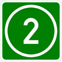 Knoten 2 grün