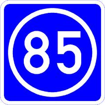 Knoten 85 blau
