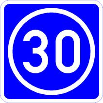 Knoten 30 blau