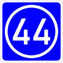 Knoten 44 blau