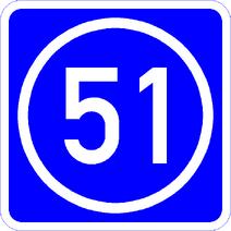 Knoten 51 blau