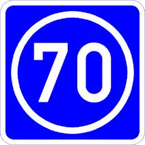 Knoten 70 blau