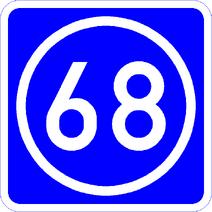 Knoten 68 blau