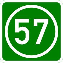 Knoten 57 grün