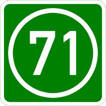 Knoten 71 grün