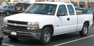 1999-2002 Chevrolet Silverado 1500 extended