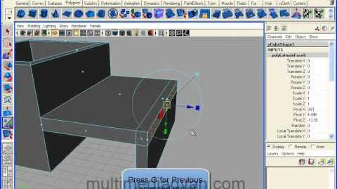 Lesson 02 Extrude and bevel tool