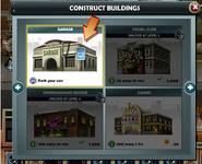 Construct garage
