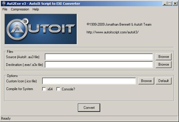 Компиляция скриптов с помощью Aut2Exe   AutoIt вики   FANDOM