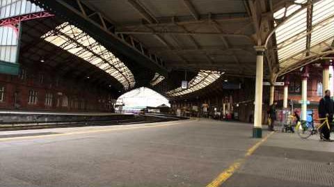 Sound Clip - Cardiff Central Announcement