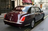 2002 Bentley State Limousine rear