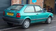 800px-1994 Volkswagen Polo Coupe Boulevard 1.0 Rear