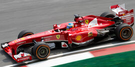 Fernando Alonso 2013 Malaysia FP1