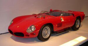 1961 Ferrari 250 TR 61 Spyder Fantuzzi 34 left 2