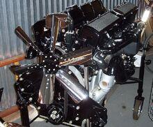 Cadillac v16 motor