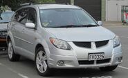 Toyota Voltz (Japan) The JDM market version of the Pontiac Vibe