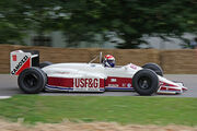 Eddie Cheever 2008 Goodwood