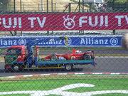 Schumacher car Suzuka 2006