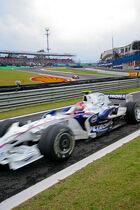 Kubica Brazil 2008 pits