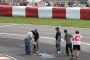 Track cleaning 2008 Canada