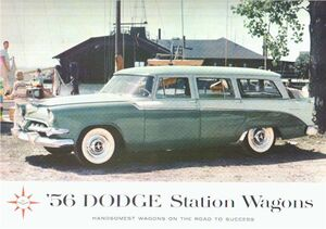 1956 Dodge wagon brochure