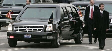 Cadillac dts presidential limousine 2005 01