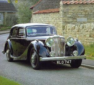 Std 1939 jaguar ss 3 5 litre saloon fv