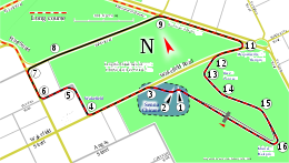 Adelaide (short route)