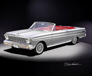 Ford falcon conv art