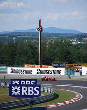 Kimi Räikkönen 2009 Hungarian Grand Prix