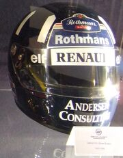 Damon Hill helmet