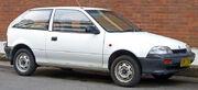 1989-1991 Suzuki Swift GA 3-door hatchback 01