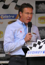 Mark Skaife 2009 Sydney 500 Launch