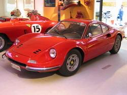 Red Ferrari Dino
