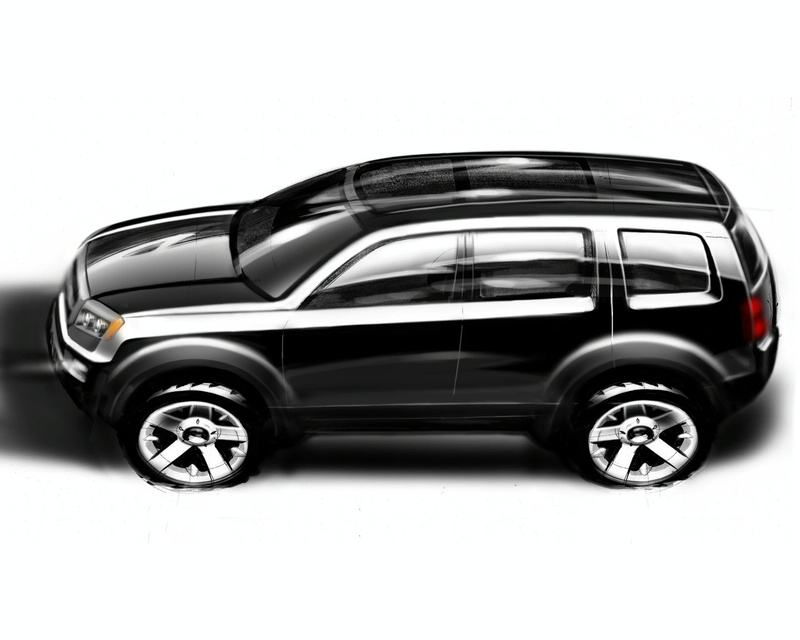Honda Pilot Suv Concept Autopedia Fandom Powered By Wikia
