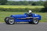 1937 E.R.A. 12C at VSCC Curborough Speed Trials 2009