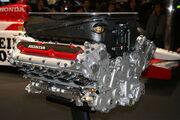 Honda RA005E engine 2005