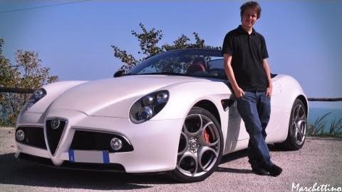 Marchettino a day with the Alfa 8C Spider