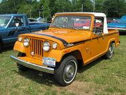 1971 Jeepster Commando SC-1 pickup orange l-Cecil'10