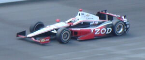 Briscoe 2012 Indianapolis 500 qualification