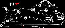 Estoril track map