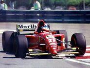 Jean Alesi Ferrari 1995