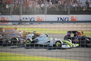 First corner incident Australia 2009
