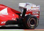 2011 Spanish GP - Ferrari illegal wing