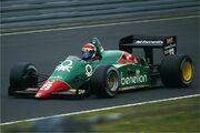 Cheever, Alfa Romeo 02.08.1985