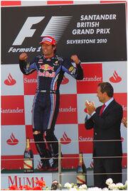 Webber British GP 2010