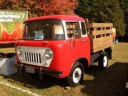 1958 Jeep FC Rockville,MD show front