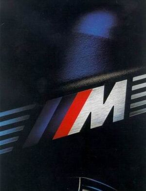 Bmw e34 m5 promo badge
